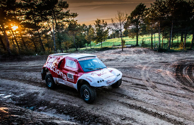 ACCIONA EcoPowered Dakar 3
