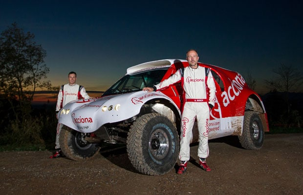 ACCIONA EcoPowered Dakar 4