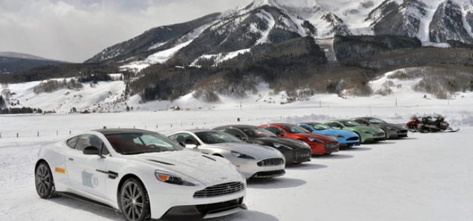 Aston Martin On Ice – Osjeti performanse!