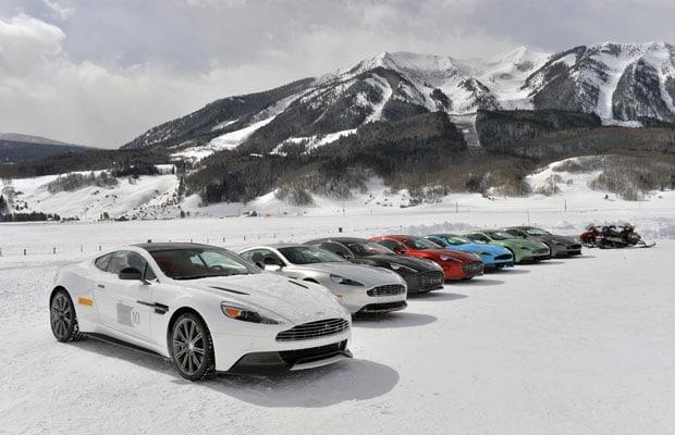 Aston Martin On Ice US 2014 cl