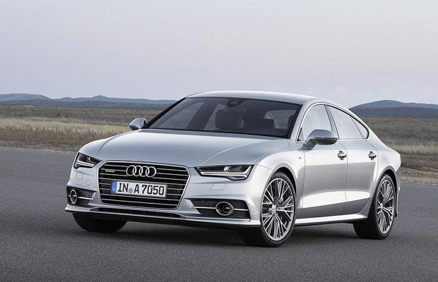 Audi A7 facelift 2014