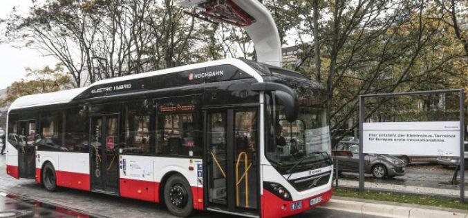 Volvo Electric Hybrid bus u redovnom saobraćaju