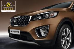 Novi Kia Sorento osvojio maksimalnih 5 zvjezdica za sigurnost na Euro NCAP testu
