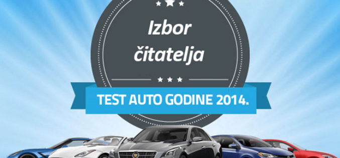 Izbor test automobila godine 2014.