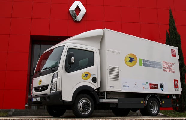 Renault Maxity Electric 1