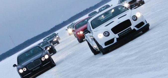 Power on Ice – Bentley na zaleđenim jezerima u Finskoj