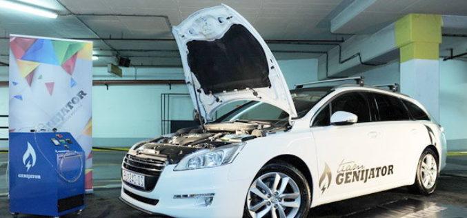 Genijator – Izum za čišćenje motora vozila