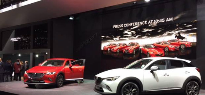 Mazda izložila kompletnu gamu nove generacije na sajmu u Ženevi