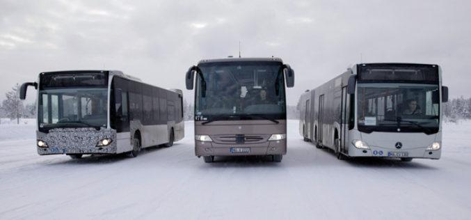 Mercedes-Benz i Setra autobusi – Testovi u Arktičkom krugu