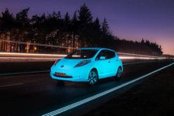 Nissan LEAF je prvi automobil koji svijetli u mraku