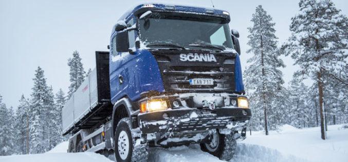Scania Winter – Testovi u zimskim uslovima