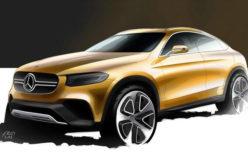 Mercedes-Benz objavio nacrt GLC Coupe koncept modela