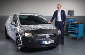 Opel Astra teaser 2015