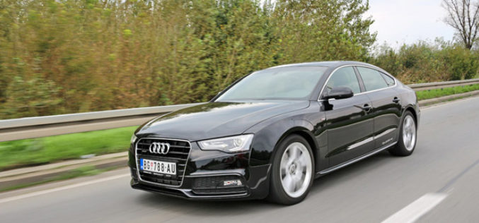 Vozili smo: Audi A5 Sportback 2.0 TDI Quattro S-Line – Za sva čula
