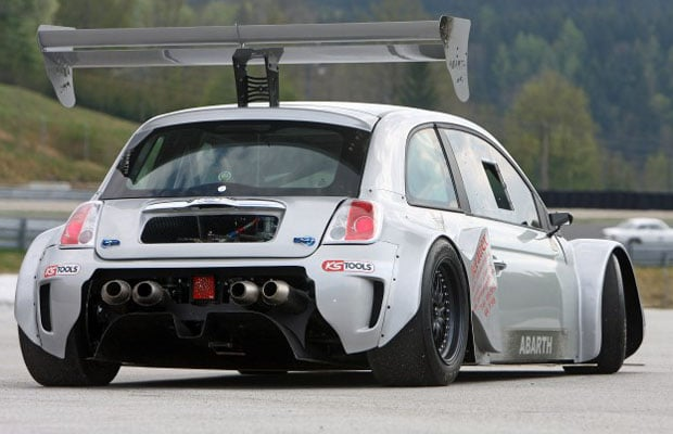 Georg Pacher Fiat 500 PRC-Abarth Race Car 03