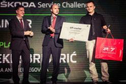 Peto svjetsko prvenstvo Škoda Service Challenge