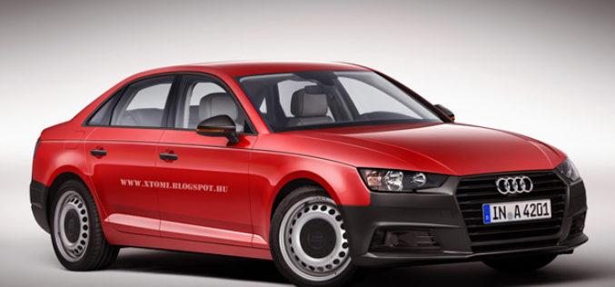 Novi Audi A4 bez opreme u retro filozofiji