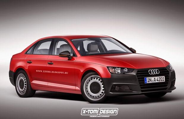 Audi A4 ogoljeni