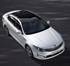 New Kia Optima - exterior #2 (Medium)