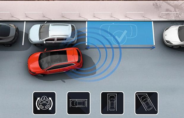 Renault Kadjar-Parking assist-Easy park assist