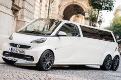 Smart ForTwo u limuzinskoj izvedbi dužine 5,5 m