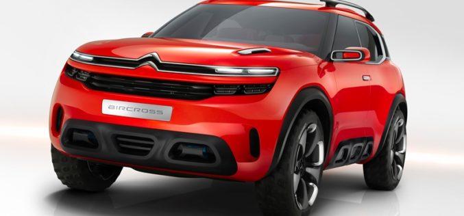Evropska premijera Citroën AIRCROSS koncepta