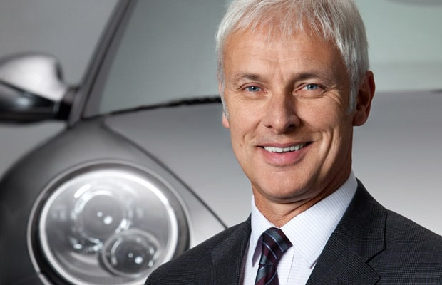 Matthias Muller Volkswagen CEO