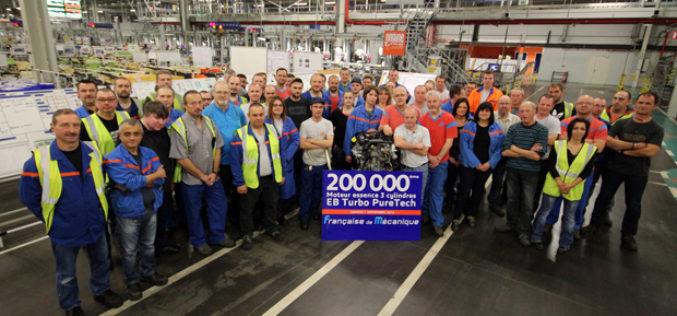 PSA Peugeot Citroën proizveo 200.000 turbo PureTech motora