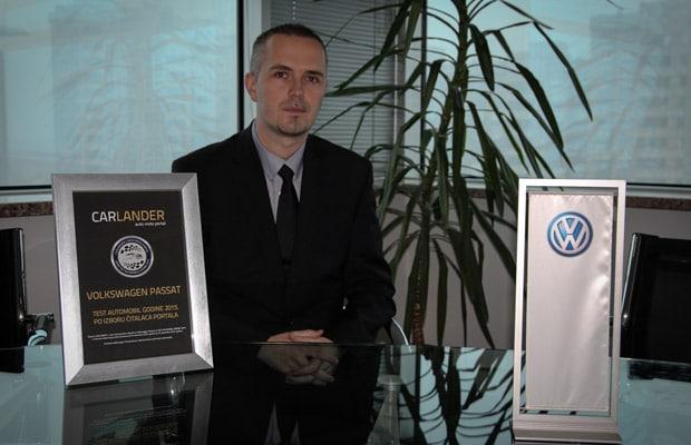 Ismir Omeragic Volkswagen Passat auto godine 2015