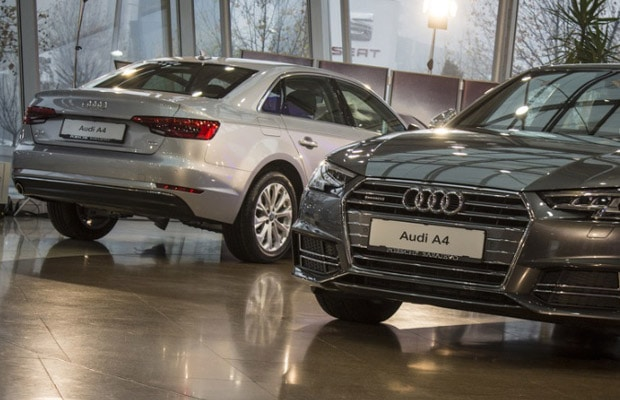 Promocija novi Audi A4 (b9) 01