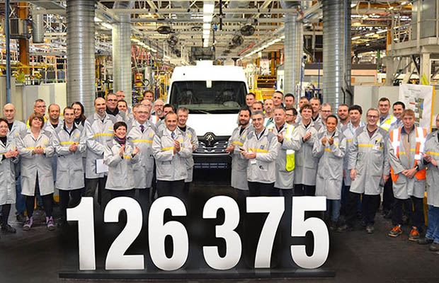 Renaultov proizvodni rekord 2015