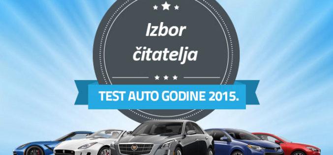 Izbor test automobila godine 2015.