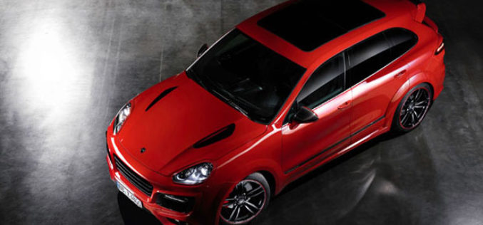 TECHART Cayenne Turbo Magnum T2 – Poslušaj zvuk ergele od 700 KS (AUDIO)
