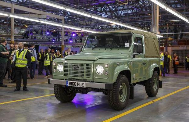 Land Rover Defender posljednji primjerak 01
