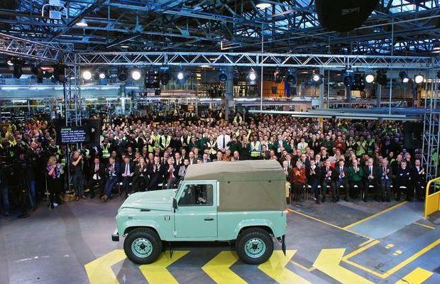 Land Rover Defender posljednji primjerak 03