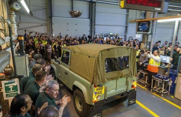 Land Rover Defender posljednji primjerak 04
