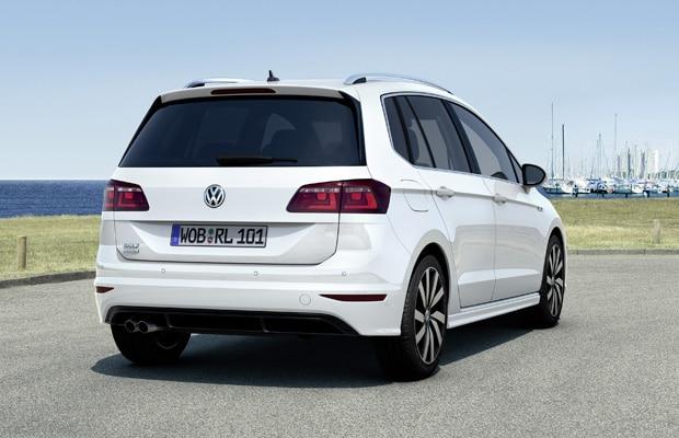 Der neue Volkswagen Golf Sportsvan R-Line