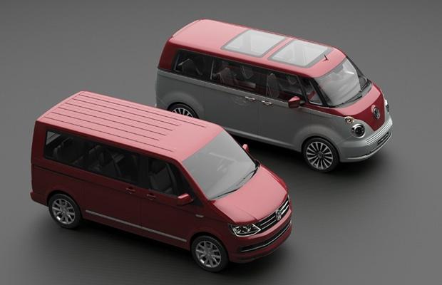 Volkswagen Transporter T1 Revival koncept 03
