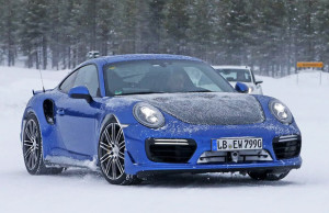 Porsche 911 GT2 winter test 2016