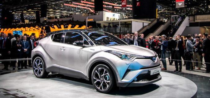 Toyota na sajmu automobila u Ženevi 2016: C-HR buduća Toyotina perjanica
