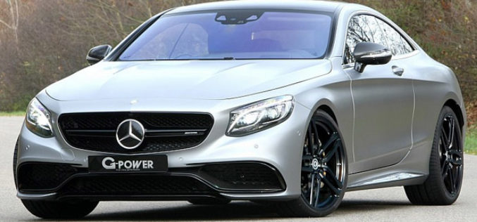 Mercedes-AMG S63 Coupe G-Power sa brutalnih 705 KS