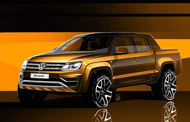 volkswagen amarok facelift 2016 - teaser 1