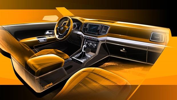 volkswagen amarok facelift 2016 - teaser 2