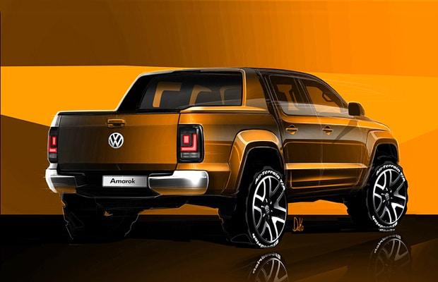 volkswagen amarok facelift 2016 - teaser 3