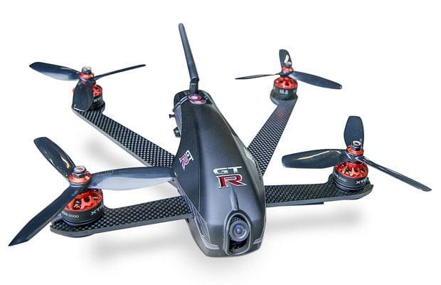 GT-R vs Drone