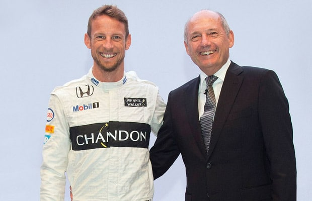 jenson button and ron dennis