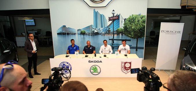 ŠKODA produžila poslovnu saradnju sa FK Sarajevo i FK Željezničar