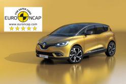 Novi Scénic okrunjen sa maksimalnih pet Euro NCAP zvjezdica za sigurnost