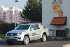 Snažni Volkswagen Amarok pristigao da pomogne djeci i mladima