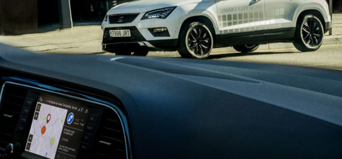 SEAT predstavlja Atecu s funkcijom Smart City Connectivity
